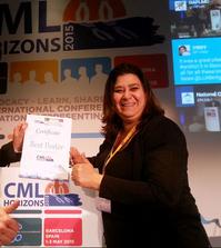 CML Horizons 2015 LMC France Best Poster advocates network leukemia myeloid chonic leucemie myeloide chronique Mina Daban