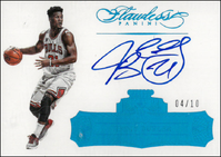 JIMMY BUTLER / Flawless Autographs - No. FA-JU  (#d 4/10)