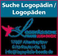 Stellenangebot Logopädie