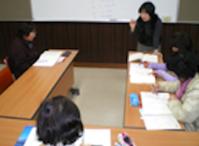 韓国語クラスのようす