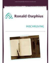 www.ronaldosephius.nl Leeg dagboek vulpen Bewust Groeien vanuit innerlijke kracht
