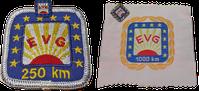 Kilometer-Abzeichen 250 und 1000 EVG