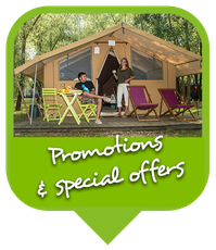 Campsite Les Saules in Cheverny - Loire Valley - Promotions, special offers and touristic box