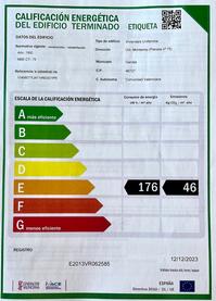 Energieeffiziens-Zertifizierung E für Ferienwohnung Valencia, Real Decreto 390/2021 - 02.06.2021