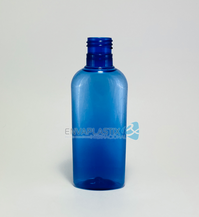 Envase oval pet 125ml azul ciel