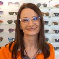 Barbara Freitage, Augenoptikerin
