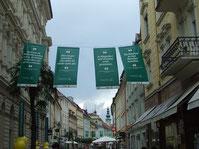 Klagenfurt im Bachmann-Fieber (Foto: Senta Wagner 2012)