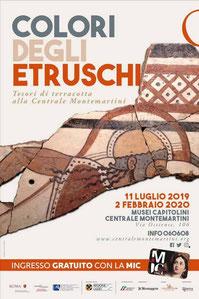 """OmoGirando """"Colori degli Etruschi"""""""