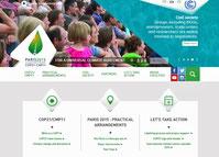 COP21の公式サイト
