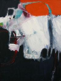 Art, MalerIn, Malerei, Künstlerin, Profi, Originale, schwarz, weiß, orange