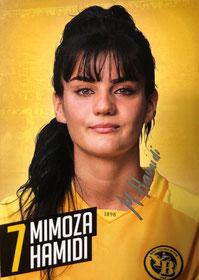 Mimoza Hamidi - YB Frauen 2018/19