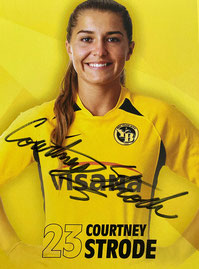 YB Frauen Courtney Strode