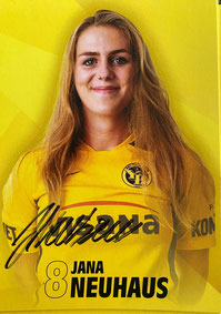 Jana Neuhaus - YB Frauen 2020/21