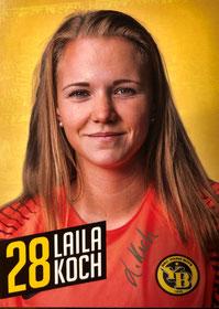 Laila Koch - YB Frauen 2018/19
