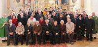 Im Gottesdienst dankten die Ehepaare für die vielen gemeinsamen Jahre.