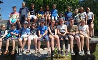 Bei ihrem Ausflug hatten die Kinder und Jugendlichen der Pfarreien Waldmünchen und Ast viel Spaß.