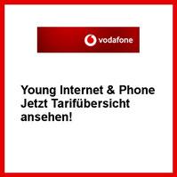 Vodafone DSL Young Internet & Phone Tarif für den Internet Anschluss für junge Leute und Studenten