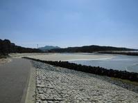 花鶴川河口周辺 河口内