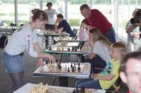 Melanie beim Frankfurter Familiensportfest