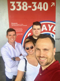 Bodensee Campus-Studenten aus dem Fach Sport- und Eventmanagement besuchen FC Bayern Erlebniswelt