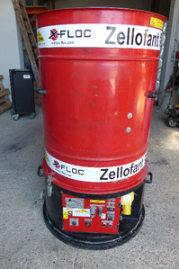 Zellofant M95 Dämmstoff Einblasmaschine