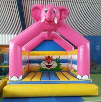 Hüpfburg elefant mieten