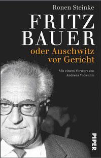 """Titel """"Fritz Bauer oder Auschwitz vor Gericht"""""""