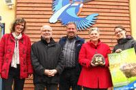 Von links: Jenny Kummer, Richard Kalkbrenner, Thomas Staab, Ellen Kalkbrenner, Sabine Michael