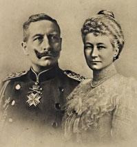 Wilhelm II. und Auguste Viktoria