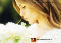 LIBRO DE AFIRMACIONES DIARIAS PARA ATRAER EL AMOR IDEAL - DIEZ TIPS PARA ATRAER EL AMOR IDEAL relaciones de pareja - www.prosperidaduniversal.org