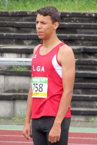 Luca Kunkel Hessische Mehrkampfmeisterschaften in Darmstadt