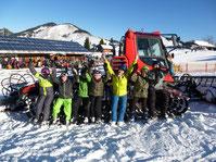 Skikurs in Bruckmühl beim Skiteam SV DJK Heufeld 2020.
