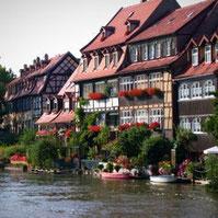 Bamberg  das UNESCO - Weltkulturerbe  Nur einen kleinen Ausflug von unserem Campingplatz entfernt liegt die wunderschöne fränkische Stadt Bamberg, als Kulturerbe weltbekannt.