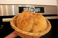 Fladen Pita Brot Rezept Dönertasche Fladenbrot