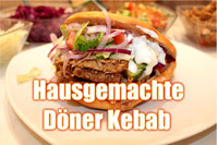 Hähnchen Döner Rezept Lamm Kebab Türkische Küche