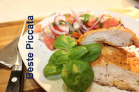 Piccata Gouada Grano Padano Milanese Rezept recipe italienische italienisches schnitzel