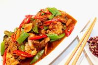 Chinesische Master Sauce Fleischgericht rezept Küche Sichuan Art