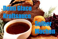 rezept demi glace braune grundsauce jus kraftsauce