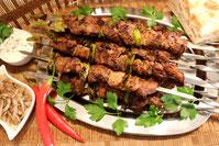 Russische Türkische Kaukasische Lamm Schaschlik Rezept