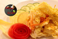 Chinakohl Salat Rezept in Sauerrahm Schand Dressing
