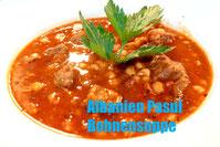 Albanische Küche Pasul Weiße Bohnen Suppe Eintopf Rezept