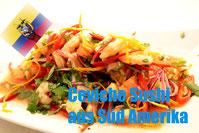 Sushi Süd amerika rezept ceviche