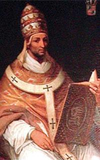 Jean XXII, portrait par Henri Ségur (Avignon, Palais des Papes)