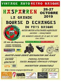 Vintage Autà Moto rétro basque Hasparren