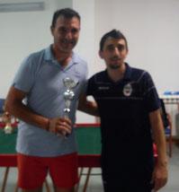 Roberto Coppolino vincitore cat. Esordienti
