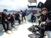 石垣島のヒートハートクラブのんびりダイビングのスタイル