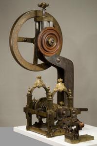 Die Elfenbeindrechselbank von Max Emanuel - Foto: W. Haberland / Bayerisches Nationalmuseum