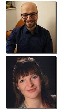 Peggy Erler (staatl. anerk. Soz.päd. / Soz.arb.), Marcel Berger (Dipl. Soz.päd. / Soz.arb.)