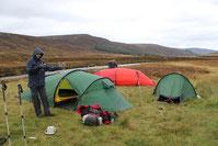 Camp an der White Bridge