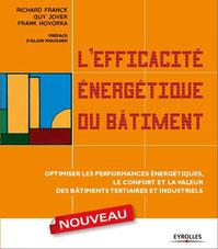 livre richard franck, l'efficacité énergétique du bâtiment, optimiser performances, confort, valeur
